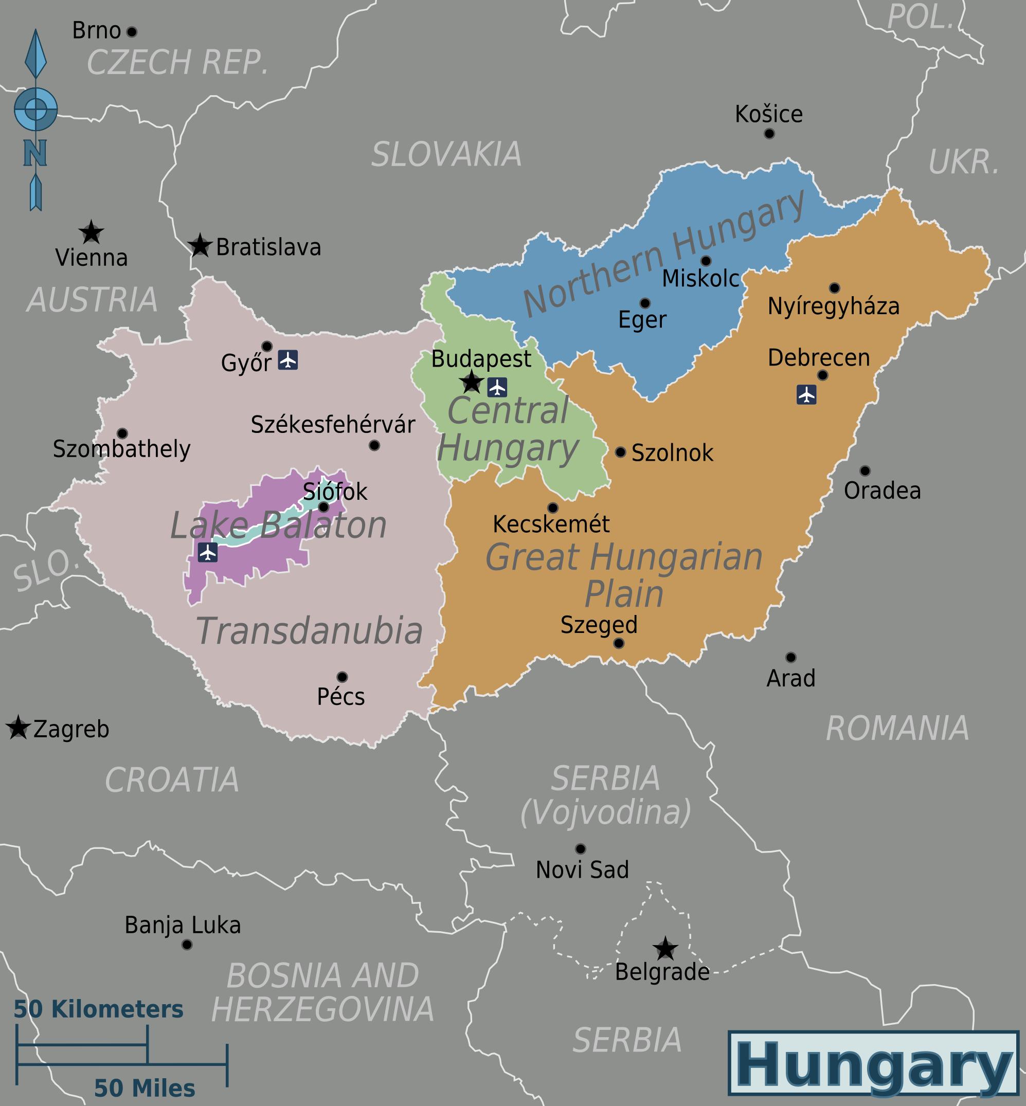 День рождения, картинки венгрия на карте